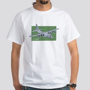 C-130 Aircraft Ash Grey T-Shirt