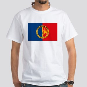 Comanche Flag White T-Shirt