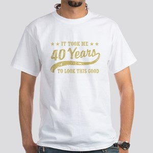 Funny 40th Birthday Women's Dark T-Shirt
