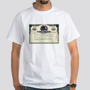 Union Pacific White T-Shirt