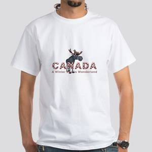 Canada Winter Sports White T-Shirt