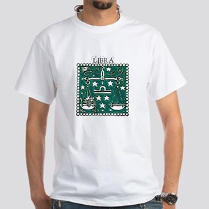 Libra the Scales White T-Shirt