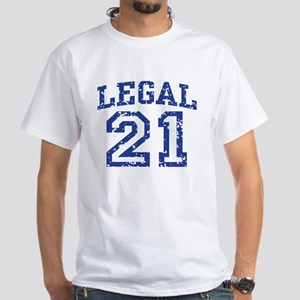Legal 21 White T-Shirt
