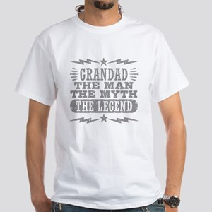 Grandad The Man The Myth The Legend Dark T-Shirt