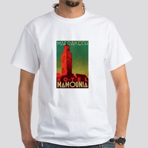 Marrakech Morocco White T-Shirt