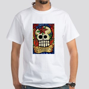 Amor Day of the Dead Skull T-Shirt