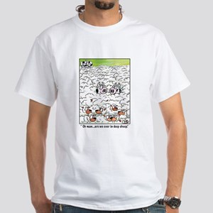 Oh man are we ever in deep sheep. Men's Classic T-
