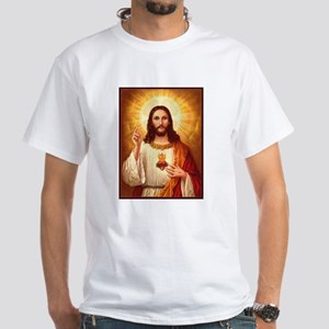 Sacred Heart of Jesus Dark T-Shirt