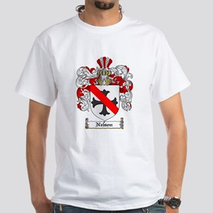Nelson Family Crest White T-Shirt
