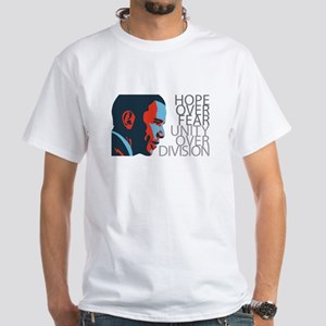 Obama - Red & Blue White T-Shirt