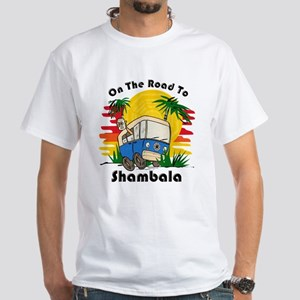 Road To Shambala White T-Shirt