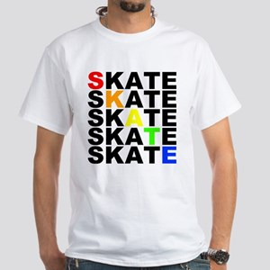 rainbow skate stacks T-Shirt