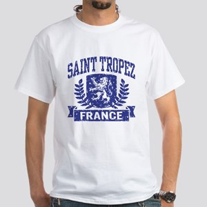 Saint Tropez France White T-Shirt