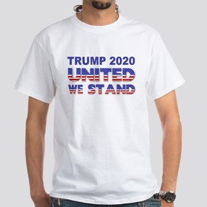 Trump 2020 United White T-Shirt