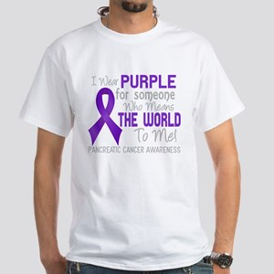 Pancreatic Cancer MeansWorld T-Shirt