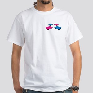 DDR Club Event Uniform: White T-Shirt