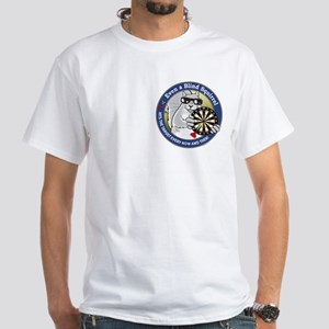 Darts Blind Squirrel White T-Shirt