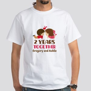 2nd Anniversary personalized T-Shirt