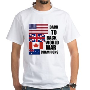 16c9692f2 Undisputed Back To Back World War Champs T-Shirts - CafePress