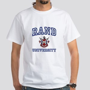 RAND University White T-Shirt
