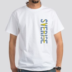 Sverige Stamp White T-Shirt
