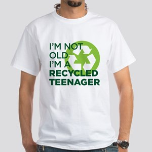 Recycled Teenager White T-Shirt