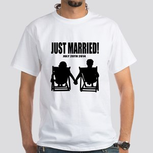 fd14bf4eb6 Just Married | Personalized wedding T-Shirt