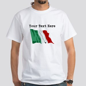 Custom Italy Flag T-Shirt