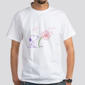 Snoopy Dandelion White T-Shirt