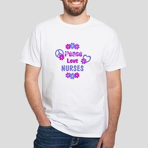 9673293da4691 Peace Love Nurse Gifts - CafePress