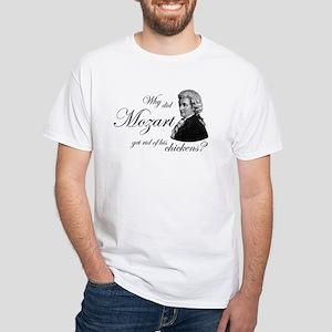 c03e805941 Mozart's Chickens White T-Shirt