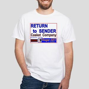 Return 2 Sender Casket Company T Shirts Cafepress