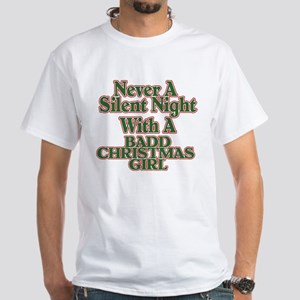 Silent Night White T-Shirt