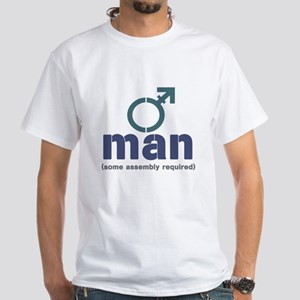 T-Man Assembly White T-Shirt