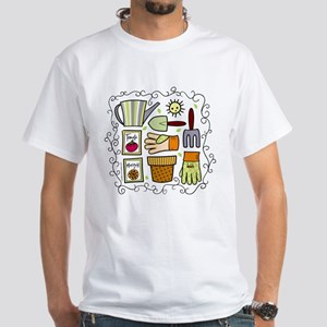 Gardeners' Supplies White T-Shirt