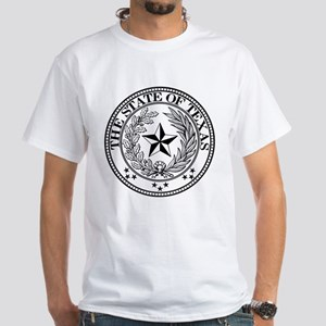 Texas State Seal White T-Shirt