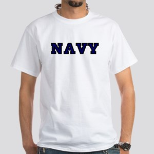 Custom Anchor #5 White T-Shirt