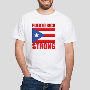 5d464df38c77 Puerto Rican Rose Flag on White Sticker. $6.99. White T-Shirt
