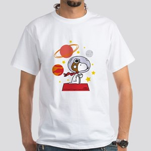 Space Snoopy Men's Classic T-Shirts
