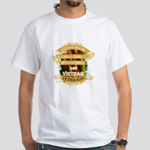 Veterans T-shirt - I come from a large fam T-Shirt