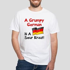d42361c490 Grumpy German White T-Shirt