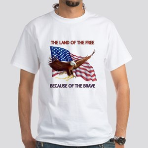 Land of the Free... White T-Shirt