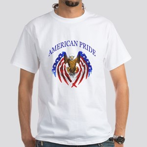 American Pride Eagle White T-Shirt