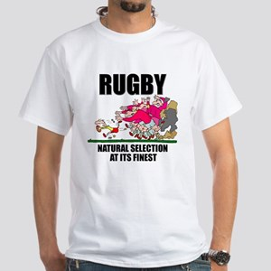 e1b9541fbff Natural Selection Rugby White T-Shirt