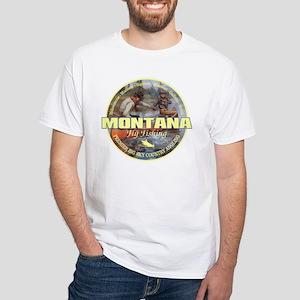 Montana Fly Fishing Men's T-Shirts - CafePress