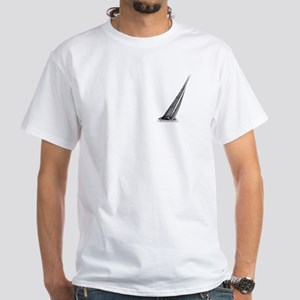SailCloth's sailboat White T-Shirt