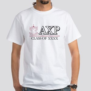 Alpha Chi Rho Class of Personlized White T-Shirt