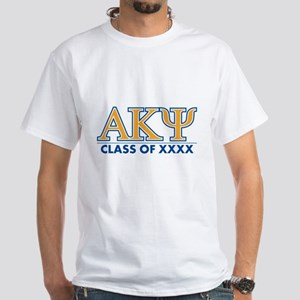 Alpha Kappa Psi Class of XXXX White T-Shirt