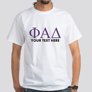 Phi Alpha Delta Personalized White T-Shirt