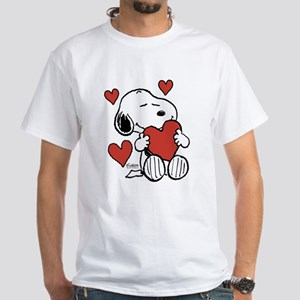 Snoopy on Heart T-Shirt